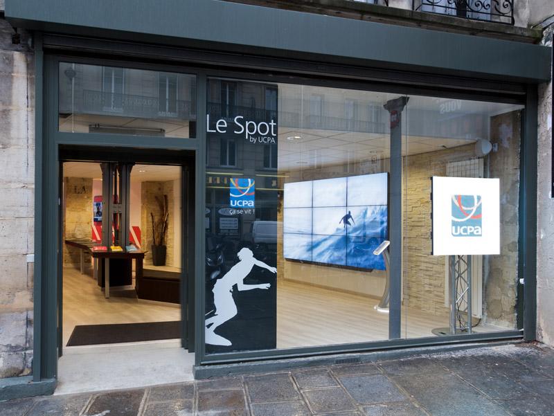 L'agence SPOT by UCPA située dans le quartier des Halles à Paris - DR