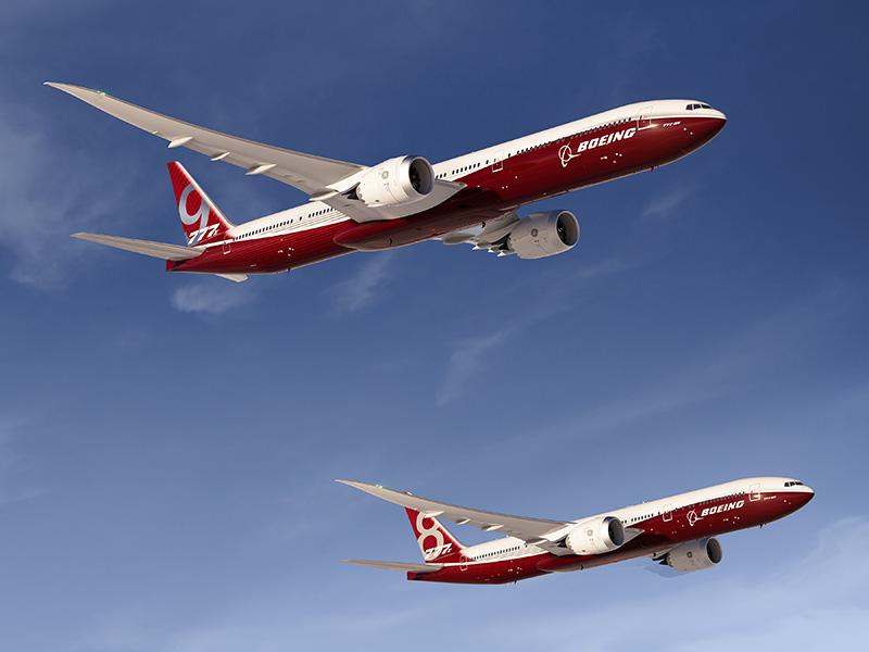La production de 777X devrait débuter en 2017, la première livraison étant prévue en 2020 - DR : Boeing