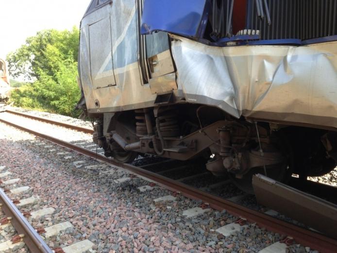 Trois enquêtes sont en cours pour déterminer les circonstances exactes de cet accident - DR : SNCF