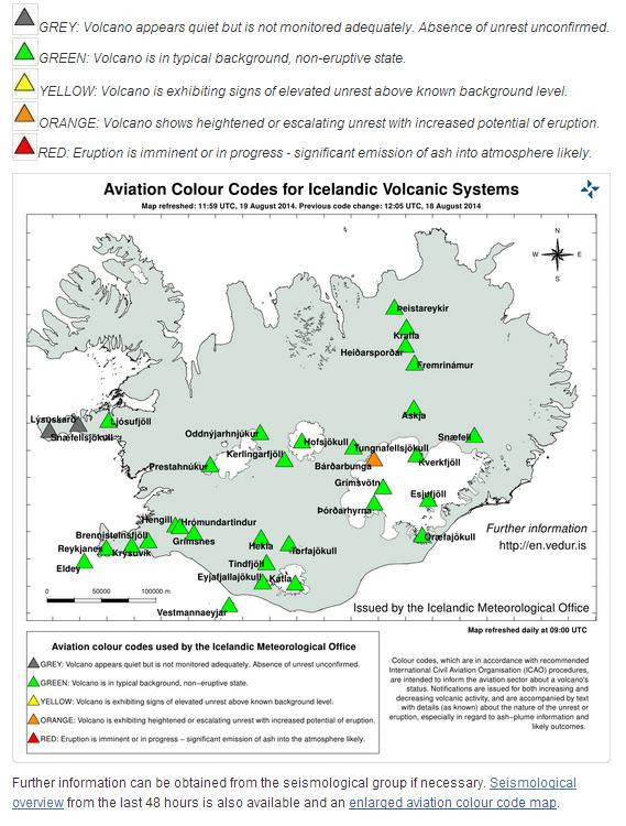 Islande : le volcan Bardarbunga pourrait entrer en éruption