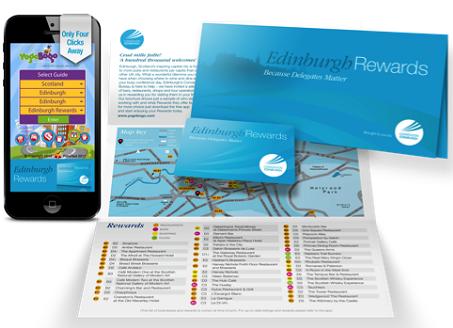 Le nouveau programme de fidélité pour les voyageurs d'affaires à Edimbourg comprendre une carte de fidélité et une application mobile - Photo DR