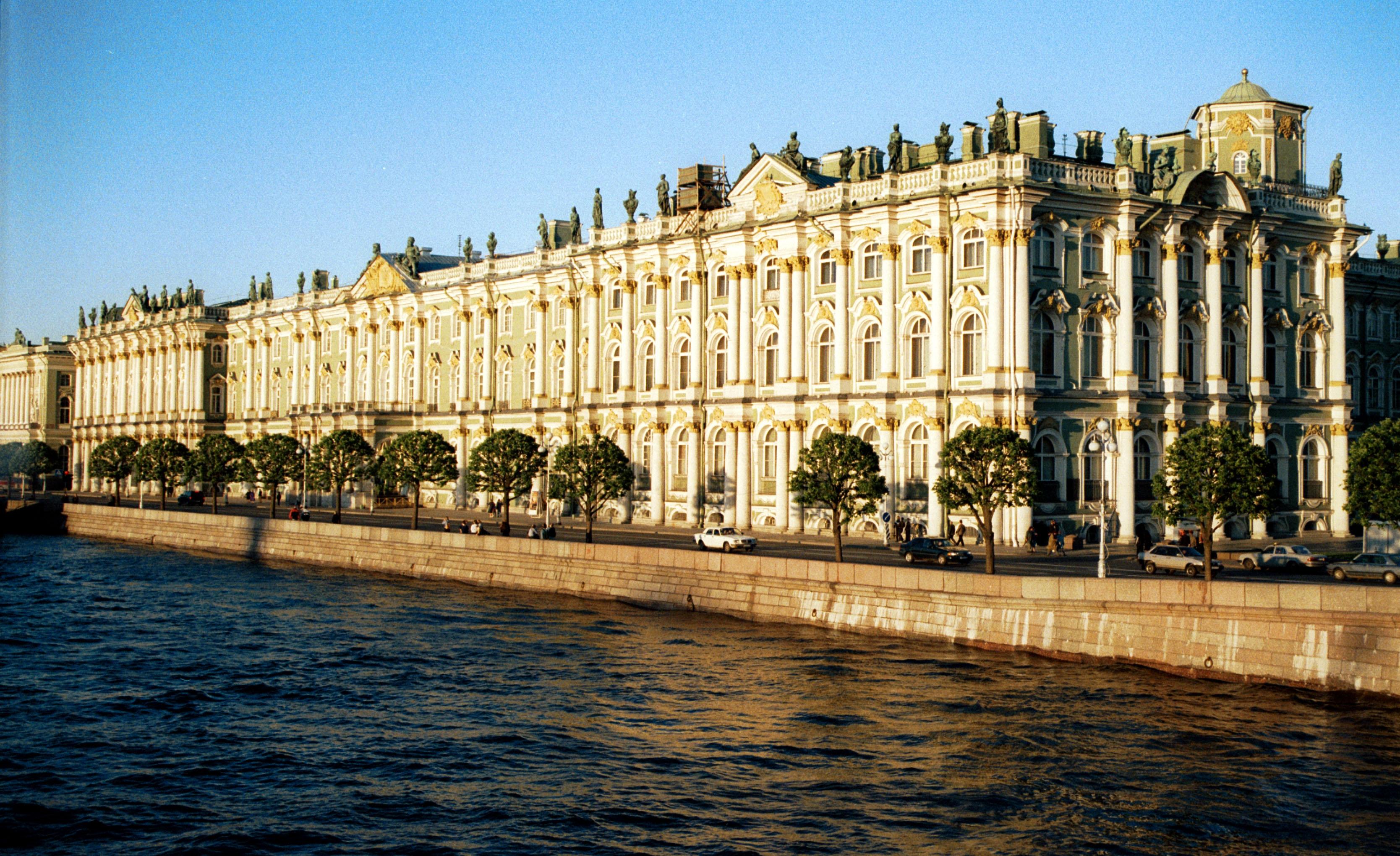 A Saint-Petersbourg, le Palais d'Hiver - DR : M.S.