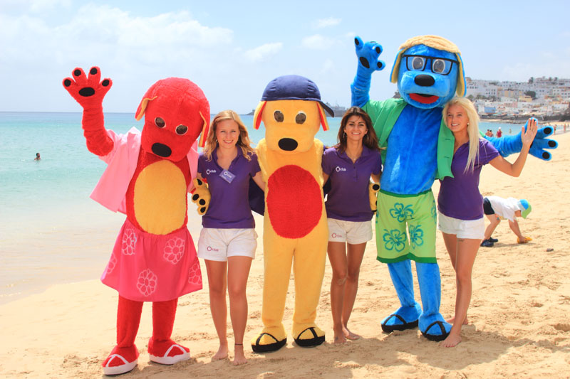 Le concept de mascotte « Les bingÔ's » pour les enfants des Ô Clubs. - DR
