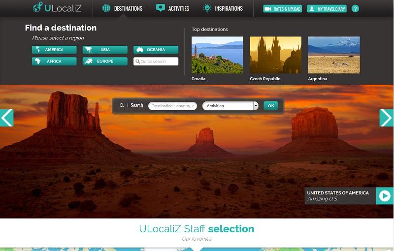 UlocaliZ, une plateforme touristique et culturelle de vidéos géolocalisées