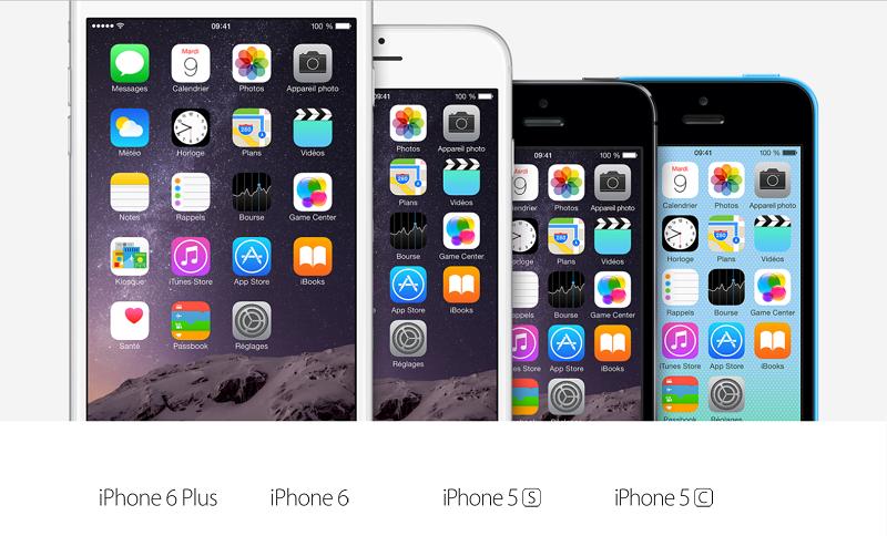 Les nouveaux iPhone 6 d'Apple