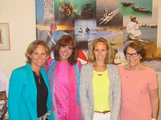 Laetitia Bry (à gauche) rejoint les équipes de l'Office du Tourisme du Sultanat d'Oman - Photo DR