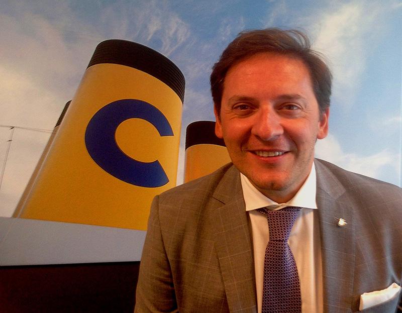Gabriele Baroni aura pour mission de développer et de mettre en œuvre des stratégies et tactiques de relations presse en ligne avec la stratégie de communication de la marque Costa  - DR : Costa Crociere