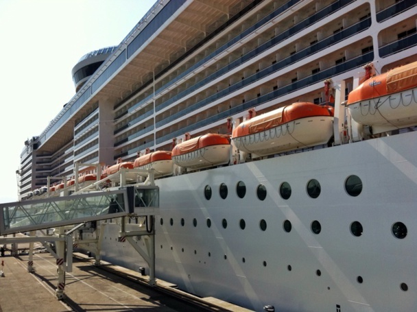 During the social conflict of the SNCM, 18 cruise stop-overs were canceled in Marseille - Photo J.D.L.
