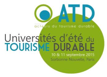 ADT lance la 1ère édition des Universités d'été du tourisme durable
