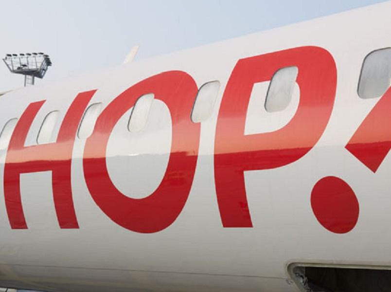 Le programme des vols de Hop ! pourrait être fortement perturbé le 10 juillet 2015 - DR : Hop !