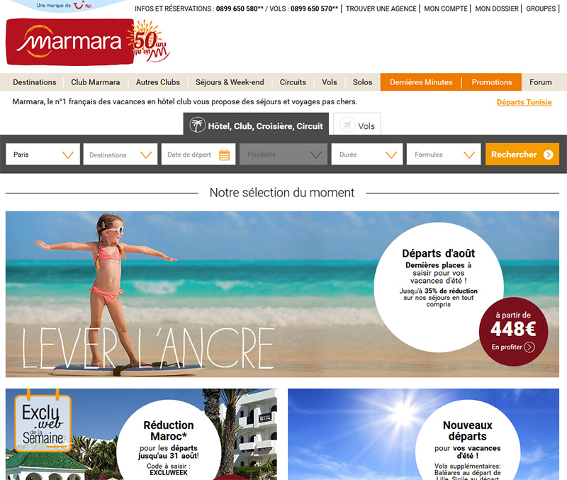 Marmara met en ligne son nouveau site web