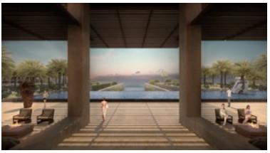 Le JW Marriott Los Cabos Beach Resort & Spa sera situé face à l'océan - Photo : JW Marriott Hotels & Resorts