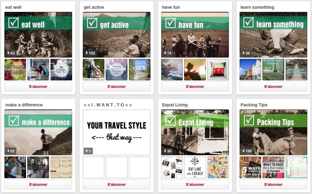 Six conseils pour réussir sur Pinterest