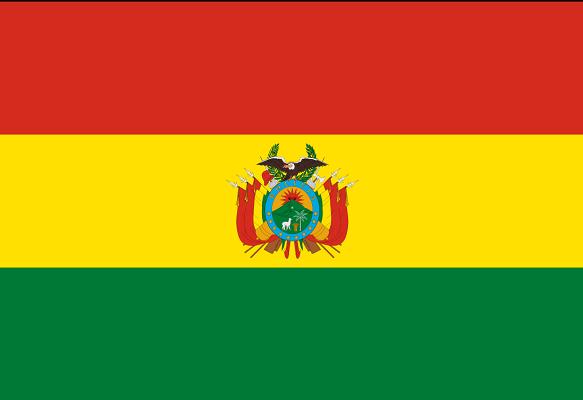 Drapeau de la Bolivie - DR : Wikipedia