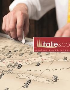 Couverture de la plaquette d'Italie & Co - DR : Italie & Co
