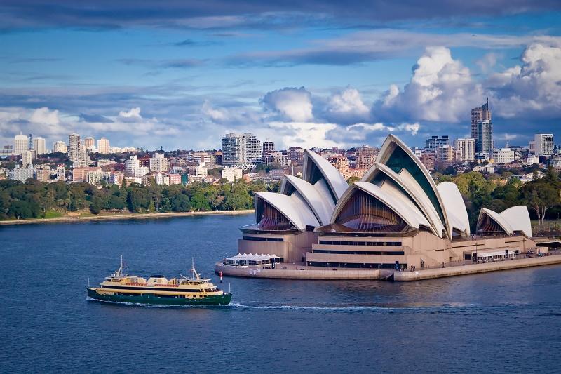 Pour Claude Blanc, l'opéra de Sydney est le monument incontournable de l'Australie - DR Fotolia Paul Liu