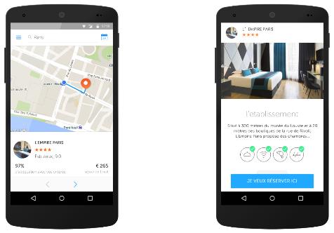 L'application Booking Now est désormais disponible pour les appareils Android - DR : Booking.com