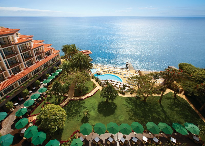 A Funchal, l'hôtel Cliff Bay est l'un des fleurons de l'hôtellerie madérienne - DR : Top of Travel