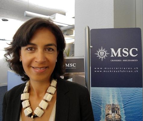 Sylvie Boulant devient Country Manager Suisse pour MSC Croisières - Photo : obs/MSC Kreuzfahrten