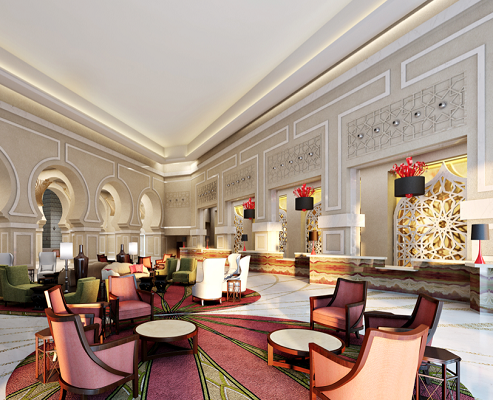 Le Makkah Marriott Hotel compte 426 chambres - Photo : Marriott