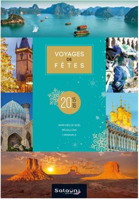 Salaün Holidays : 25 nouveautés dans la brochure Voyages de Fêtes 2015/2016