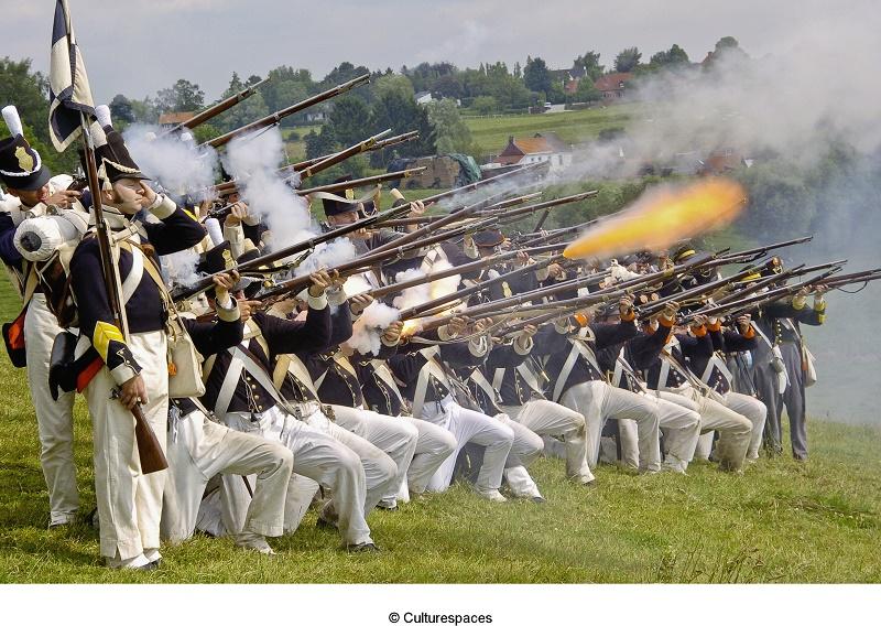 Commemoration de la bataille de Waterloo, le 18 juin 2015 - DR : Culturespaces