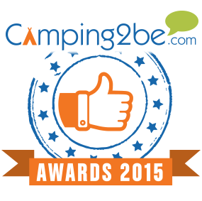 Camping : 927 sites français décrochent un Camping2be Award 2015