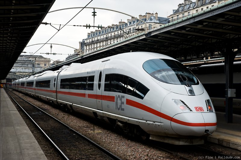 Les trains ICE, équivalents Allemand du TGV français, circulent désormais pour Alleo. DR-© flow rail-dude.com