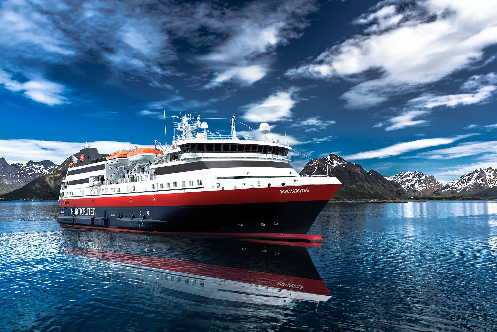 Hurtigruten en appelle à sa communauté pour trouver le nom de son nouveau navire