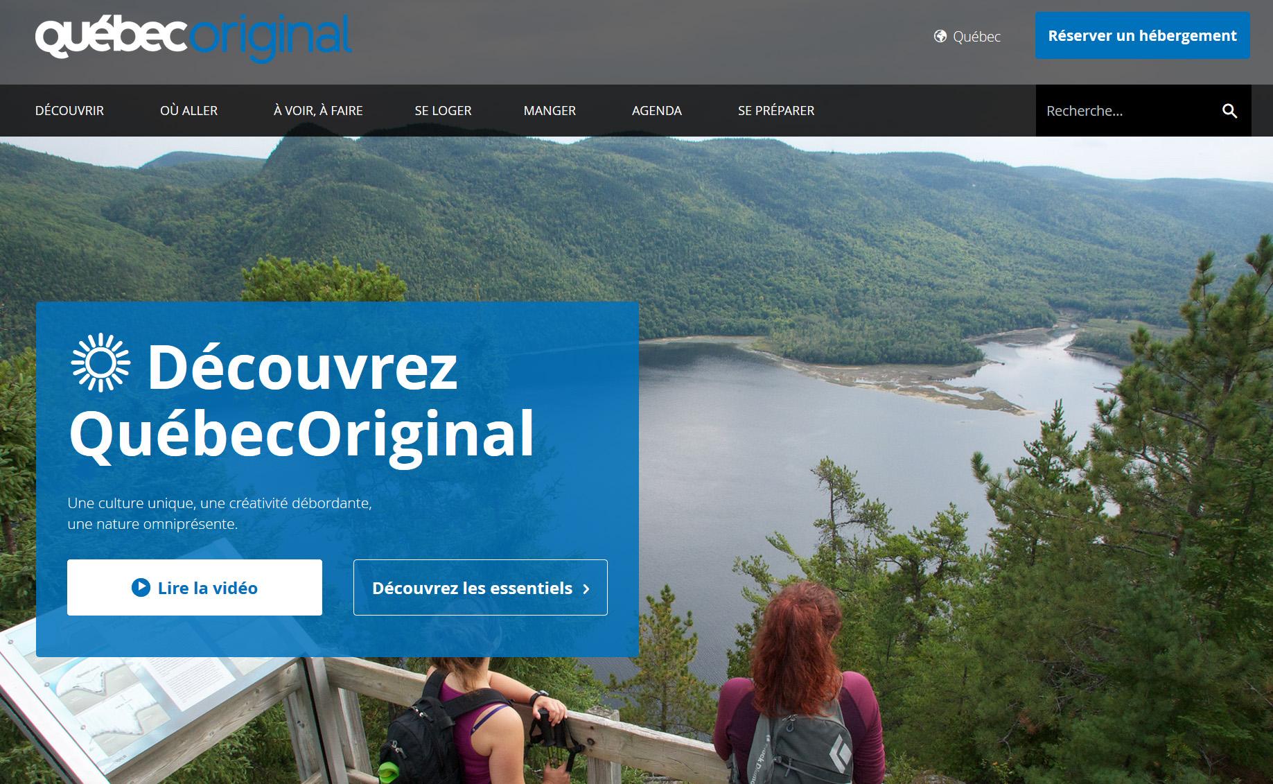 Europe : le Ministère du Tourisme du Québec représenté par Interface Tourism