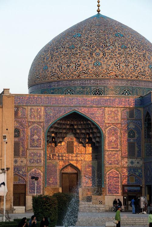 D'une rare finesse, la mosquée d'Imam à Ispahan - Photo OT d'Iran