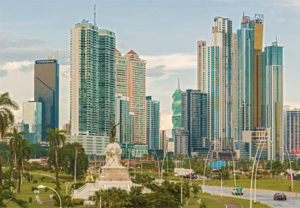 Panama City la capitale du Panama -© Marcus - Fotolia.com