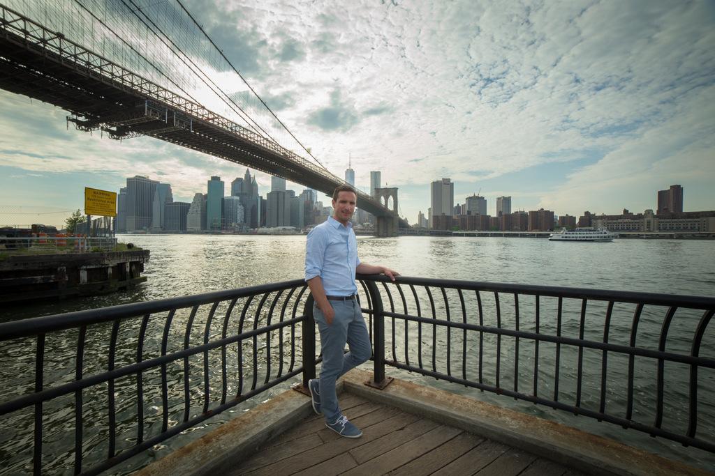 Alex à New York - DR