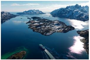 Hurtigruten réduit le prix de ses croisières pour des réservations anticipées - DR : Hurtigruten