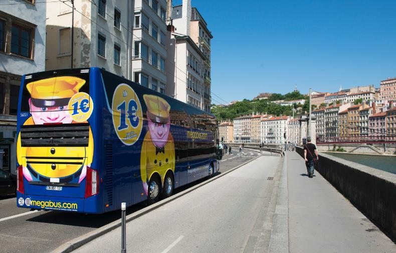 Mégabus poursuit l'extension de son réseau en France - Photo : Megabus