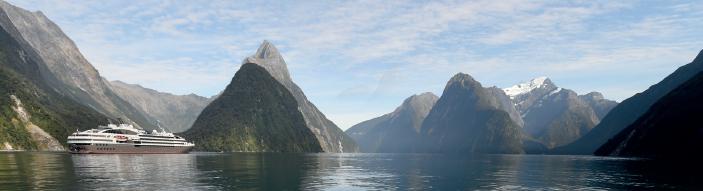 Le Soléal naviguera sur les eaux de Nouvelle Zélande en janvier et février 2016 - Photo : Ponant