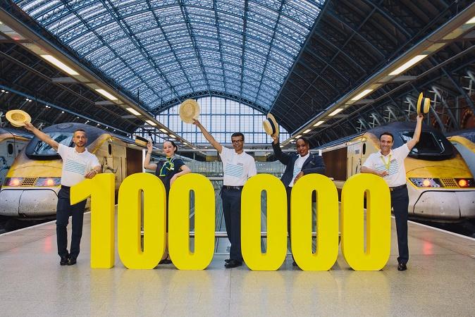 100 000 billets ont déjà été vendus pour la nouvelle ligne lancée le 1er mai 2015 - DR : Eurostar