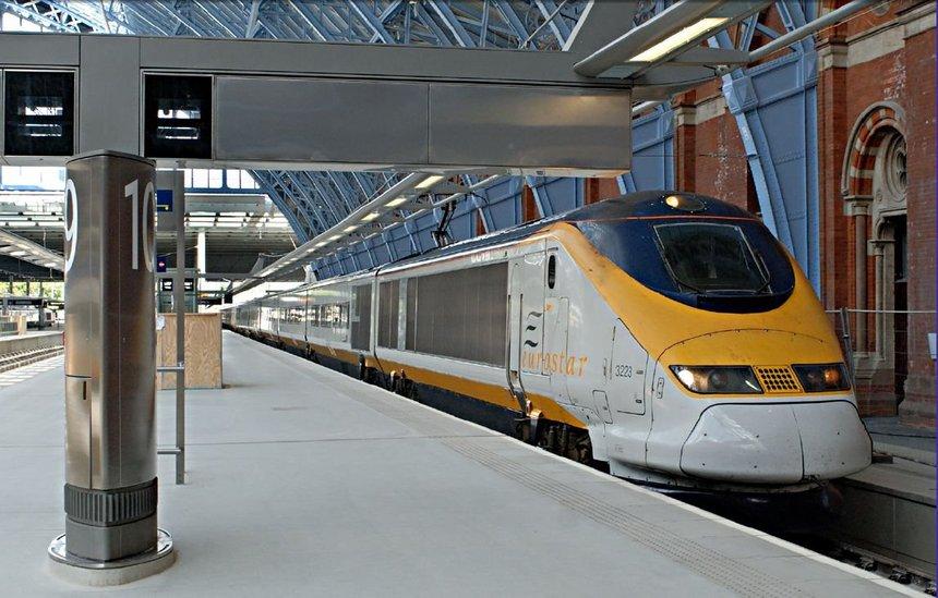 Les passagers français apprécient particulièrement la nouvelle gare de Saint-Pancras, porte d'entrée londonienne de l'Eurostar (cliquer pour agrandir)