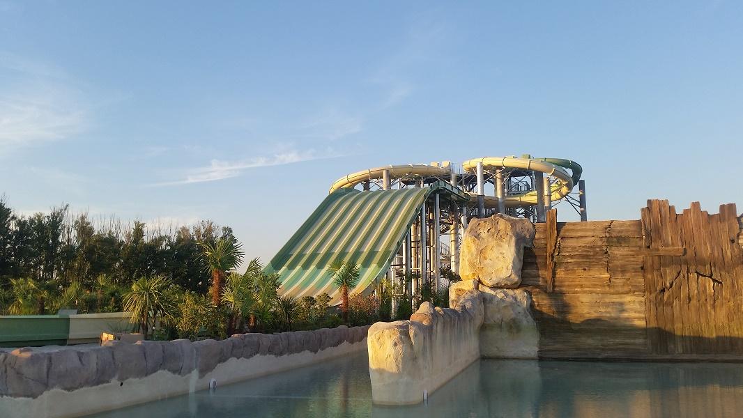 Toutes les attractions de Splashworld Provence ne seront en service qu'à partir de juin 2016 - DR : Splashworld Provence