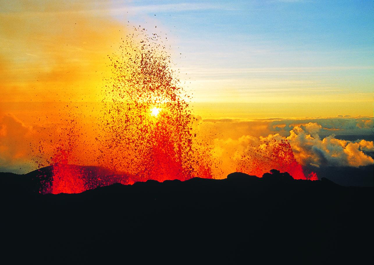 L'éruption du Piton de la Fournaise, un prétexte commercial pour Air Austral - Photo DR