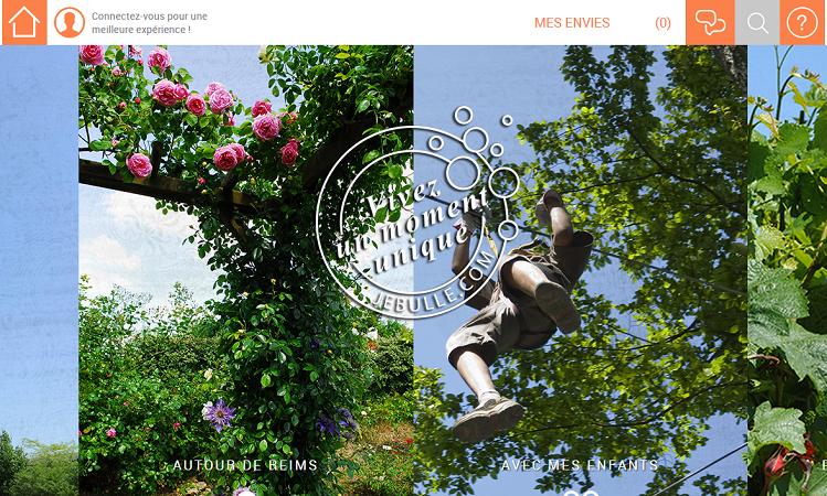 Le site a été officiellement lancé samedi 29 août 2015 - Capture d'écran