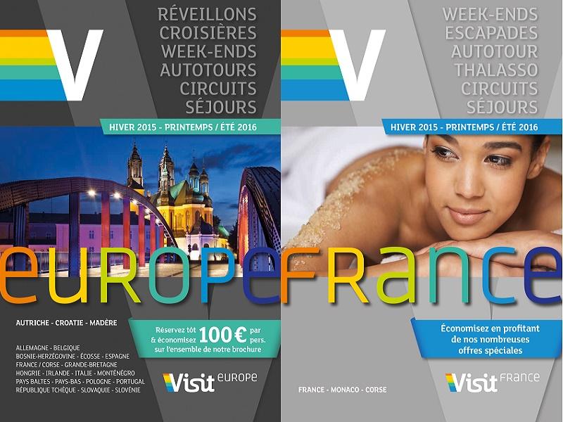 Visit Europe publie ses brochures Europe, France et Réveillons pour l'Hiver et le Printemps 2015/2016 - DR : Visit Europe