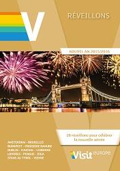 Couverture de la brochure Réveillons de Visit Europe - DR : Visit Europe