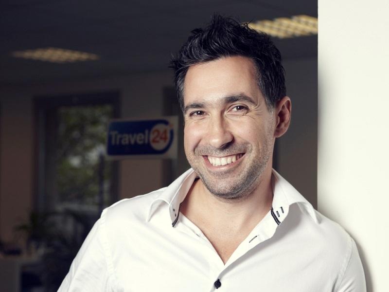 Vincent Luna était le Directeur général de Travel24 en France - Photo DR