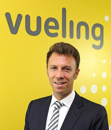 David Garcia Blancas est le nouveau Directeur Commercial de Vueling - Photo : Vueling
