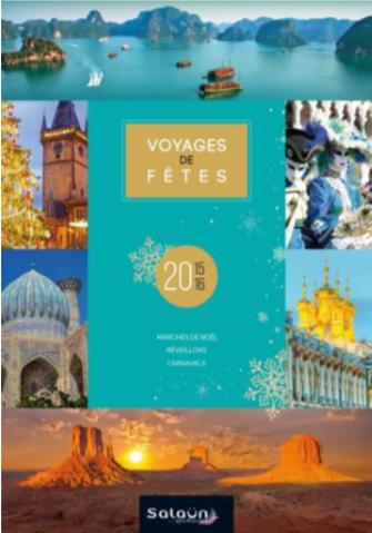 """Salaün Holidays : 25 nouveautés font leur entrée dans la brochure """"Voyages de fêtes"""""""