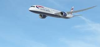 British Airways volera entre Londres et San José en B787-9 Dreamliner - Photo : British Airways