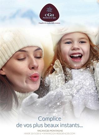 Couverture de la brochure de CGH Résidences & Spas - DR : CGH Résidences & Spas