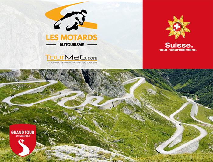 Les Motards du Tourisme se dérouleront en Suisse du 8 au 11 octobre 2015 - DR