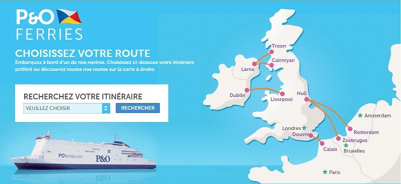Manche : P&O Ferries bat des records de trafic au mois d'août 2015